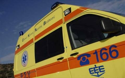 Τρίκαλα: Τροχαίο με τραυματίες τρία ανήλικα παιδιά