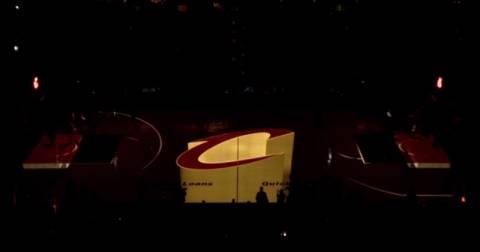 ΑΠΙΣΤΕΥΤΟ: Έκαναν το παρκέ 3D οι Cavaliers