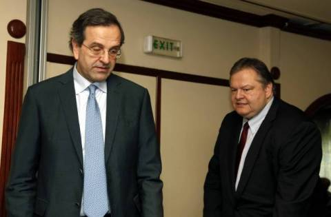 Samaras to meet with Venizelos today