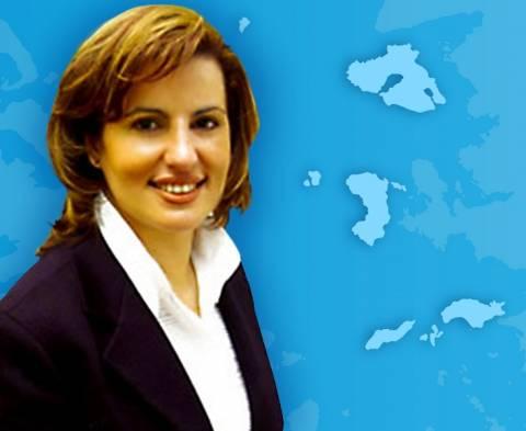 Υποψήφια Περιφερειάρχης Βορείου Αιγαίου η Χριστίνα Καλογήρου