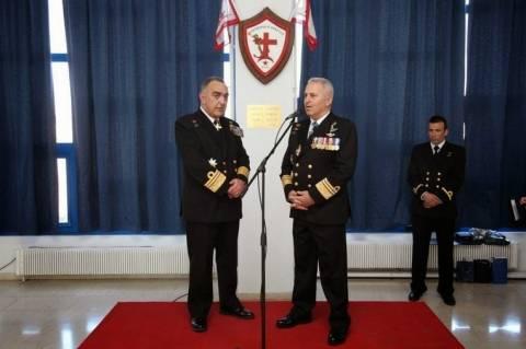 Τελετή Παράδοσης Παραλαβής Διοικητού Σχολής Ναυτικών Δοκίμων