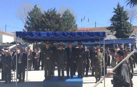 Παράδοση-Παραλαβή Διοικήσεως του 15ου Συντάγματος Πεζικού «XV ΜΠ»