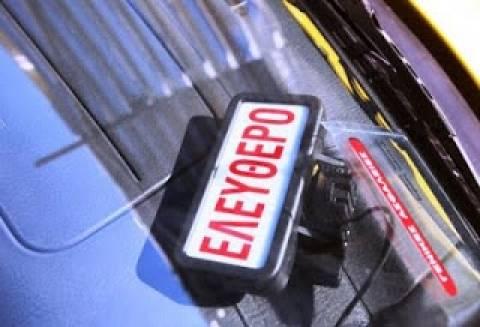 Διαμαρτύρονται οι οδηγοί ταξί στην Πάτρα
