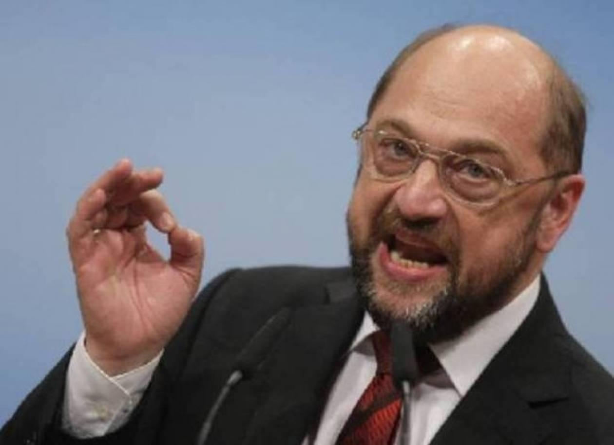 Μ. Σούλτς: Φόβους πολέμου στην Ευρώπη επαναφέρει η κρίση στην Κριμαία