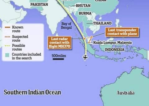Νέες έρευνες ξεκίνησαν για την εύρεση του Boeing της Malaysia