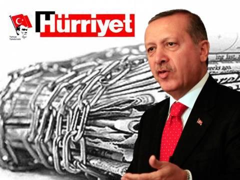 Hurriyet: O Ερντογάν φιμώνει τα ΜΜΕ- Οδηγεί την χώρα στο χάος