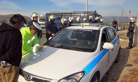 Σπάρτη: Αστυνομική επιχείρηση σε καταυλισμούς Ρομά
