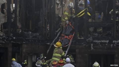 4 νεκροί από φωτιά σε ξενοδοχείο στο Νιού Τζέρσεϊ