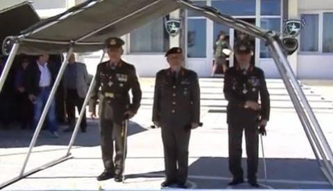 Παράδοση-παραλαβή διοικήσεως της ΧΧ Τεθωρακισμένων (βίντεο)