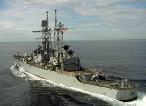 Το αντιτορπιλικό USS Truxtun πέρασε το Αιγαίο