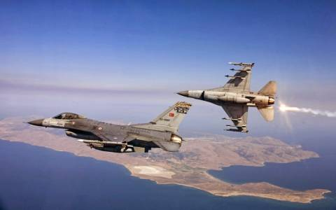 Χαμός για τα Τούρκικα F-16  που «προστατεύουν» τον τάφο του Σουλεϊμάν