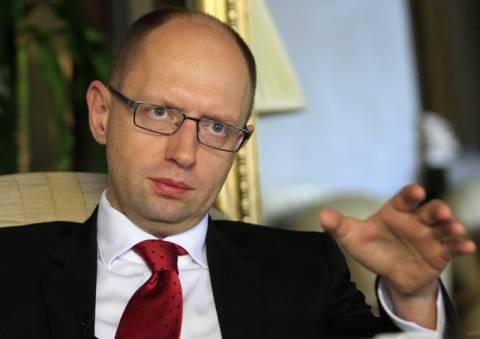 Γιατσένιουκ: Αναγκαία η προμήθεια ενέργειας από την Ε.Ε.
