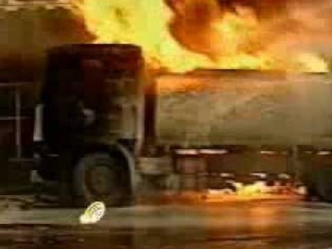 Στις φλόγες απορριμματοφόρο του Δήμου Σερρών