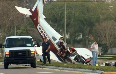 Ένας νεκρός από συντριβή μικρού αεροσκάφους στη Φλόριντα