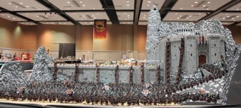 Μάχη από τον «Άρχοντα των Δαxτυλιδιών» με Lego! (photos)