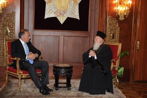 Επίσκεψη Κ. Αρβανιτόπουλου στο Οικουμενικό Πατριαρχείο