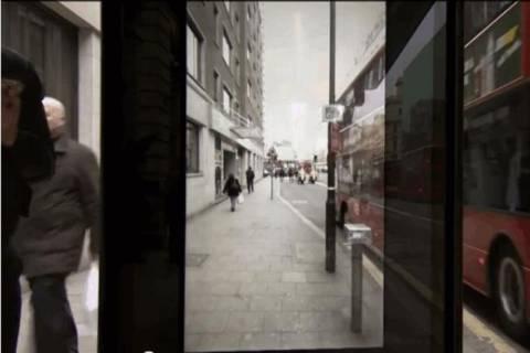Λονδίνο: Απίστευτη στάση λεωφορείου! (video)