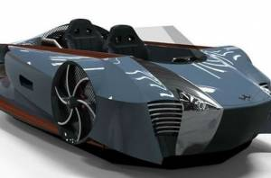 Mercier-Jones Supercraft: Αμφίβιο υβριδικό hovercraft