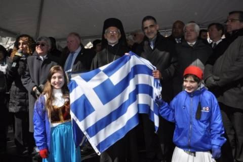 Παρέλαση της Ομογένειας για την 25η Μαρτίου στον Καναδά