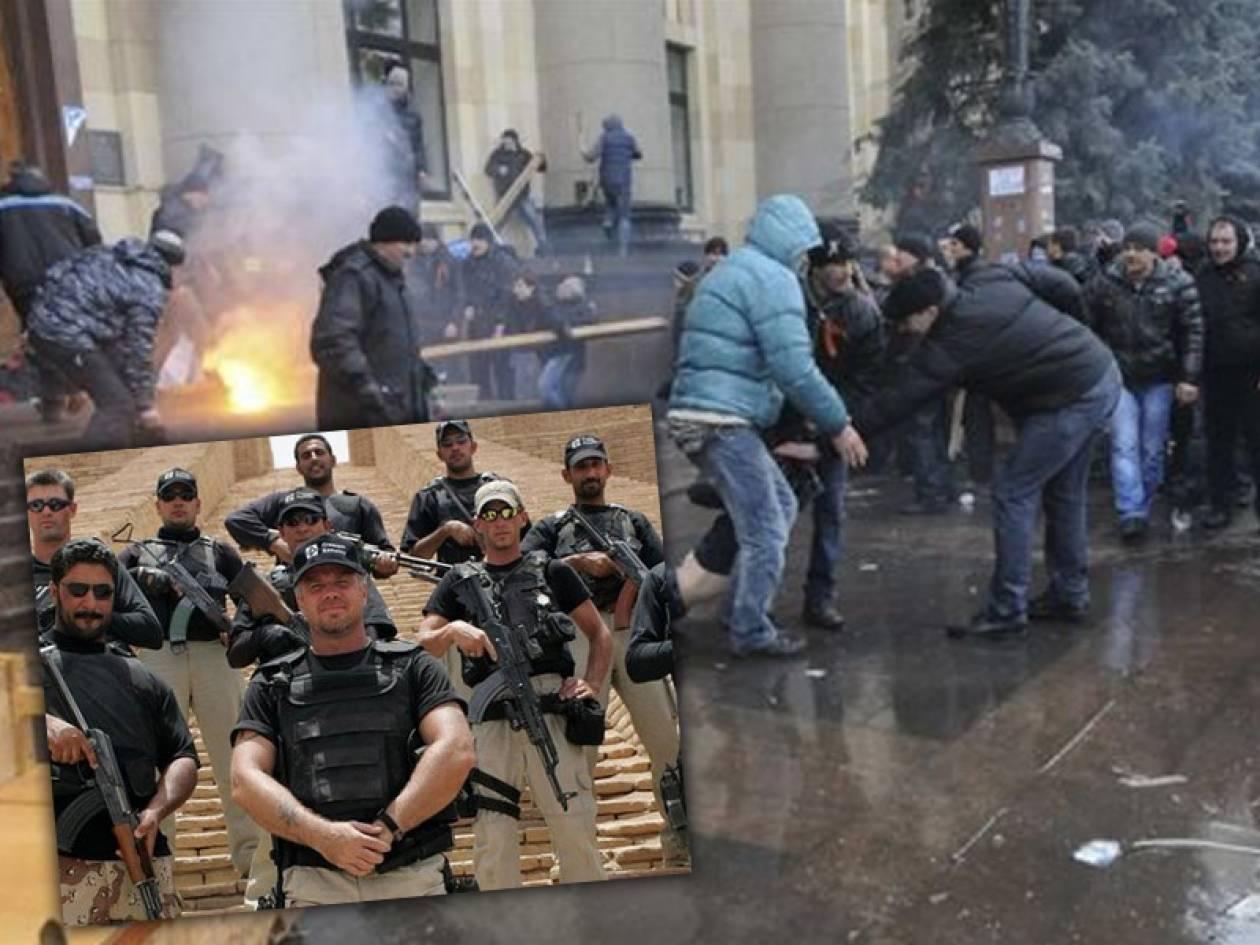 Μισθοφόροι θα αναλάβουν να καταπνίξουν την οργή της Ανατολ. Ουκρανίας