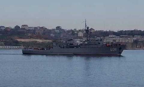 «Έπεσε» το τελευταίο ουκρανικό πολεμικό πλοίο