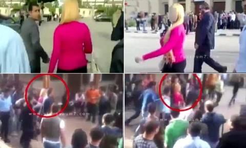 Βίντεο: Tι γίνεται όταν μια ξανθιά μπαίνει στο Πανεπιστήμιο του Καϊρου