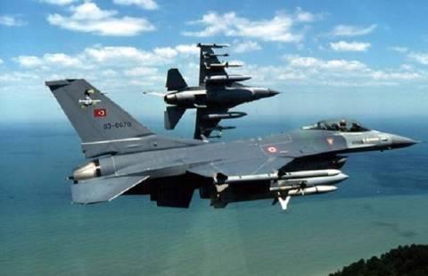 Τουρκικά μαχητικά πάνω από το Αιγαίο