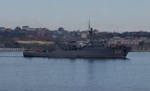 "The last Ukrainian warship ""fell"""
