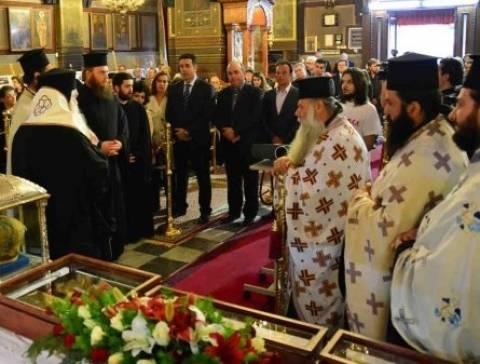 Στο Ναύπλιο τα Ιερά λείψανα του Αγίου Λουκά της Κριμαίας
