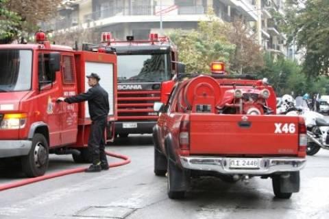 Φωτιά σε δικηγορικό γραφείο στο κέντρο της Θεσσαλονίκης