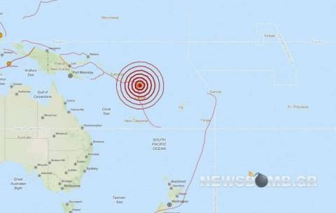 Earthquake in Solomon Islands