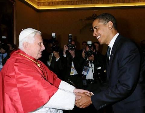Ομπάμα – Πάπας Φραγκίσκος: Κοινή μάχη κατά της φτώχειας