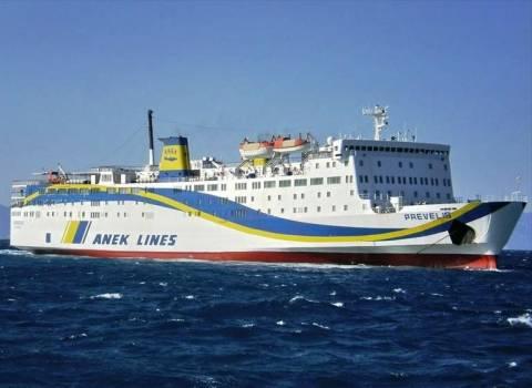 Προβλήματα για το επιβατικό πλοίο «Πρέβελης» στο λιμάνι της Κάσου