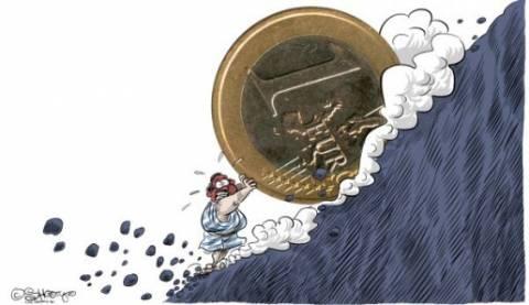 Υποχώρηση του ευρώ προκαλεί το ενδεχόμενο αποπληθωρισμού στην ΕΕ
