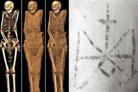 Βρετανία: Τατουάζ του Αρχάγγελου Μιχαήλ 1300 ετών! (photos)