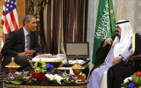 Σ.Αραβία: Συνάντηση Ομπάμα με το βασιλιά Αμπντάλα