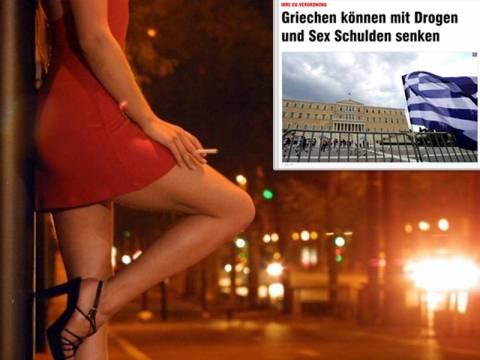 «Οι Έλληνες μπορούν να μειώσουν το χρέος με ναρκωτικά και σεξ»