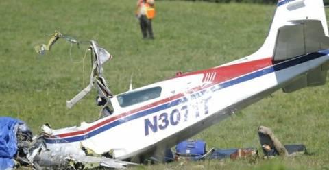 Συντριβή αεροσκάφους στην Αγγλία, φόβοι για δύο νεκρούς