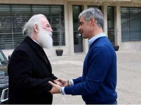 Α. Σπηλιωτόπουλος: Συναντήθηκε με τον Μακαριώτατο Πατριάρχη Θεόδωρο Β'