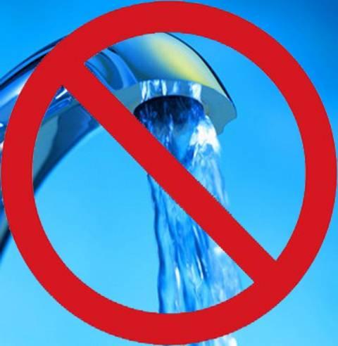 Ξανά διακοπή νερού στον Εύοσμο