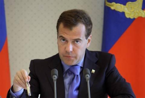 Στην Κριμαία ο Μεντβέντεφ