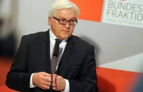 Σταϊνμάγερ: Υποχωρεί η αντιπαράθεση με την Κριμαία