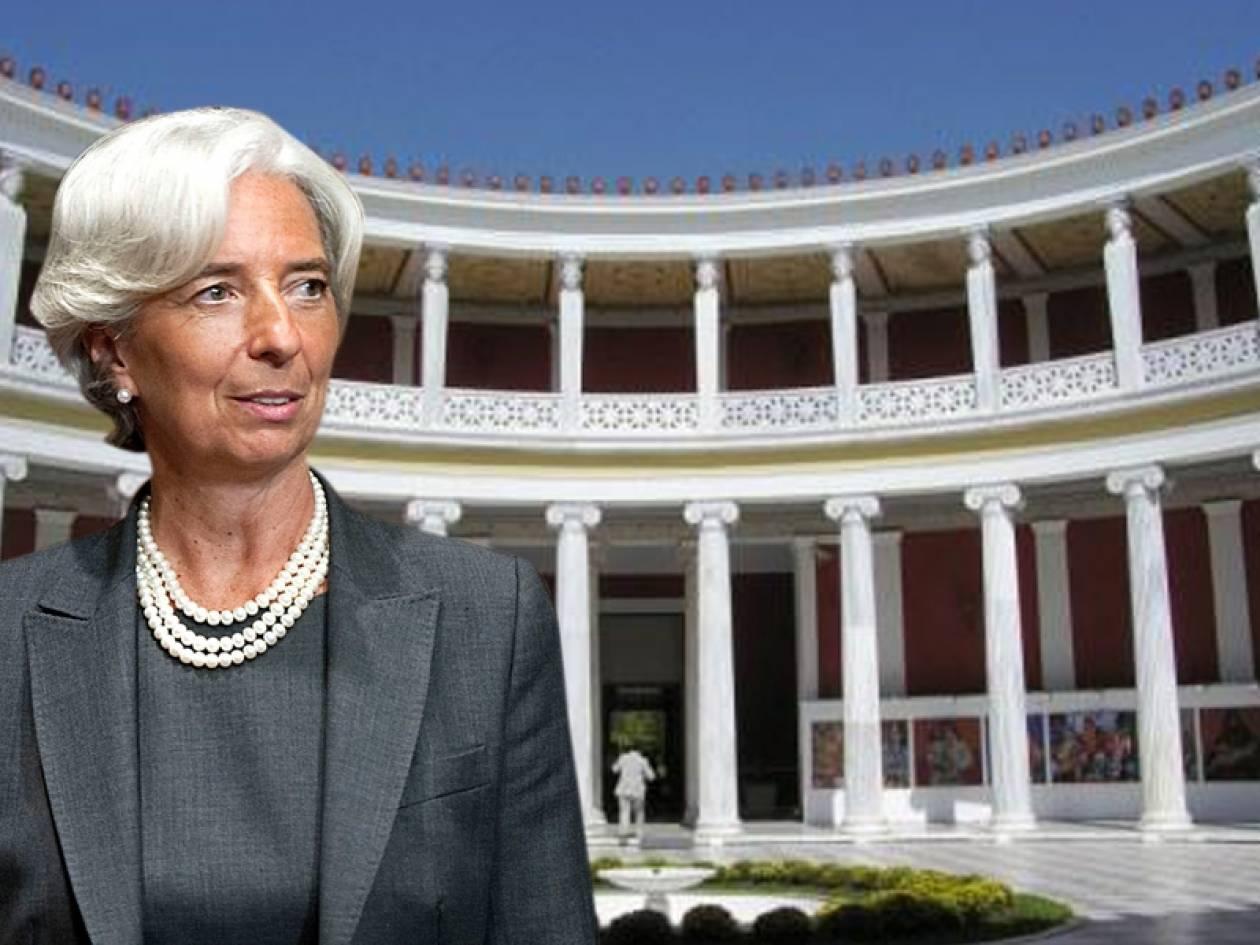 ΑΠΟΚΛΕΙΣΤΙΚΟ: Δεν θα παραστεί η Λαγκάρντ στο Eurogroup της Αθήνας