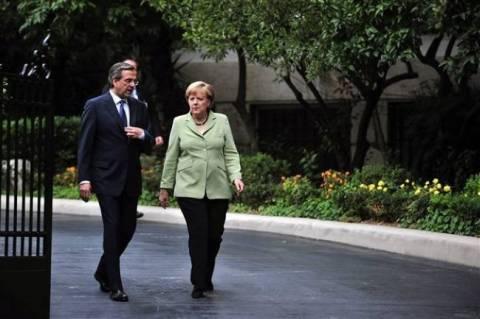 Merkel in Athens before Easter