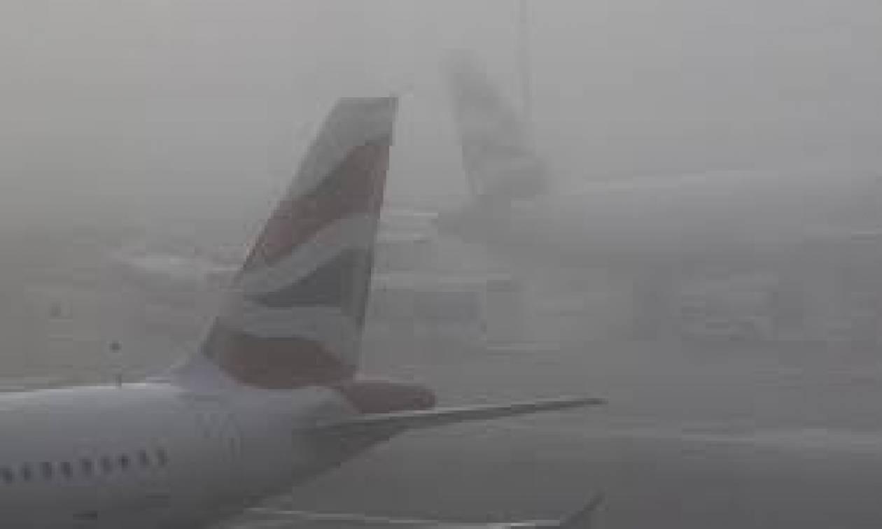 Μαζικές ακυρώσεις πτήσεων από και προς Χίθροου