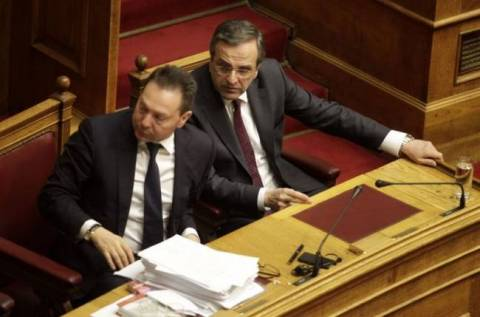 Samaras and Venizelos updated from Stournaras for Eurogroup and Ecofin
