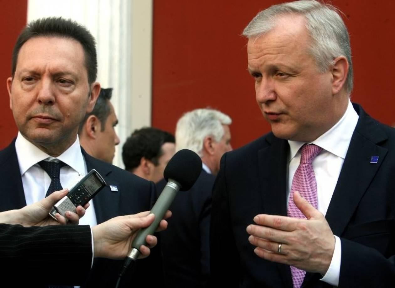 Ρεν: Στο άμεσο μέλλον η Ελλάδα θα είναι δυνατό να βγει στις αγορές