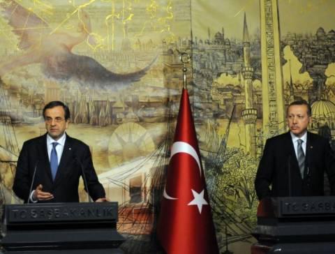 Συγχαρητήριο τηλεφώνημα Σαμαρά σε Ερντογάν