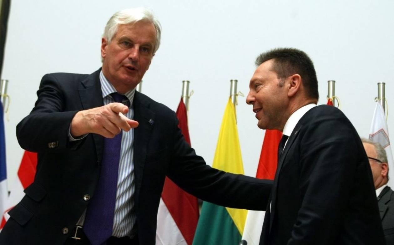 Μπαρνιέ: Η Ελλάδα βρίσκεται πλέον σε καλό δρόμο