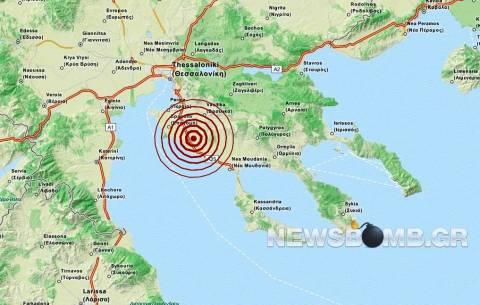 Σεισμός 3,3 Ρίχτερ στη Χαλκιδική